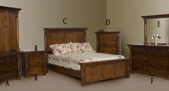 Bevel Bedroom Set