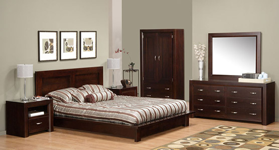 Contempo Bedroom Set 2