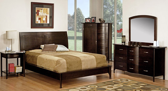 Demi-Lune Bedroom Set