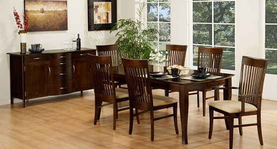 Demi Lune Dining Set