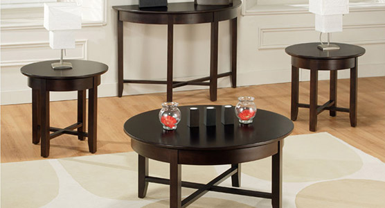 Demi-Lune Living Room Tables