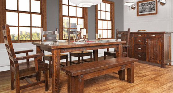 Frontier Dining Set