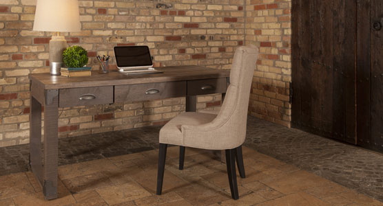 Iron Corner Desk