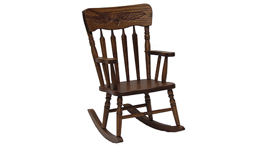 Pressback Child's Rocking Chair