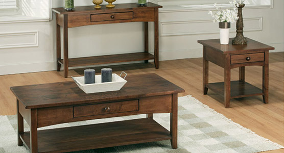 Shaker Living Room Tables