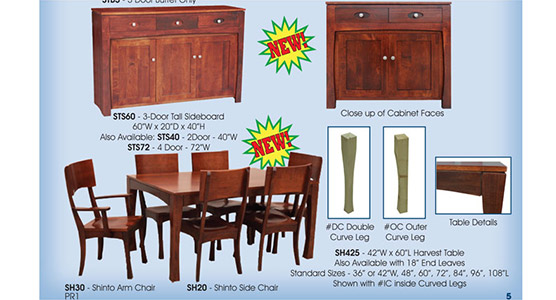 Shinto Dining Room Set