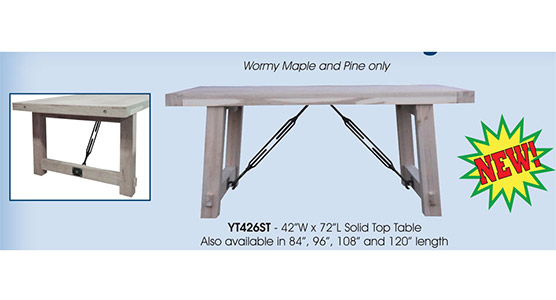 Yukon Turnbuckle Dining Set
