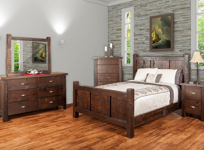 wood bedroom set