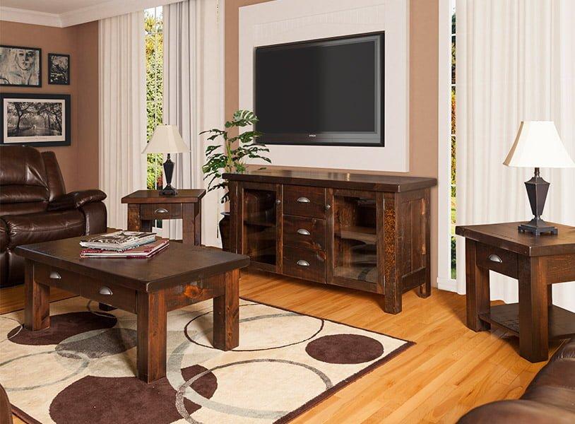 living room wood