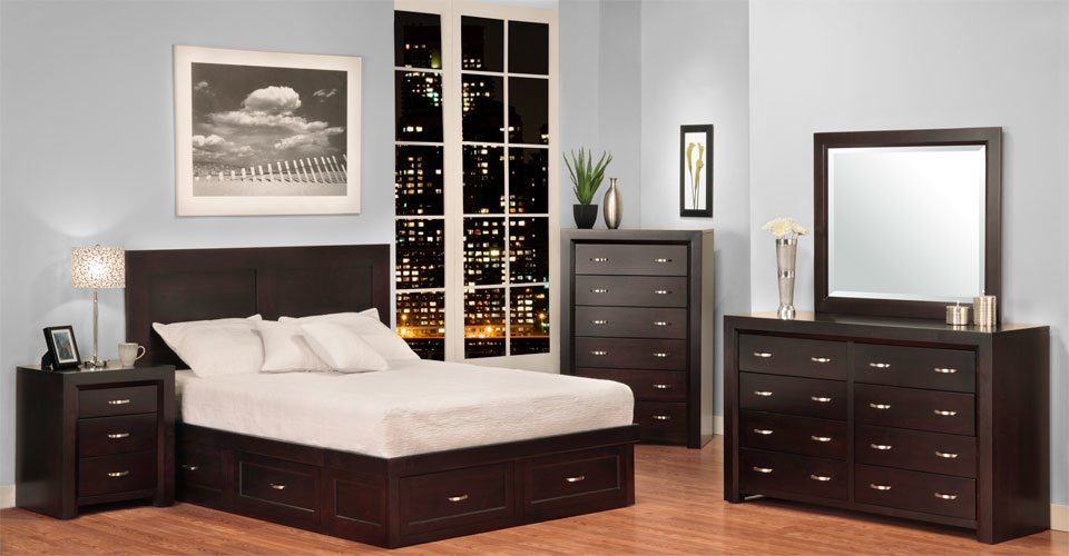 Contempo Bedroom Set