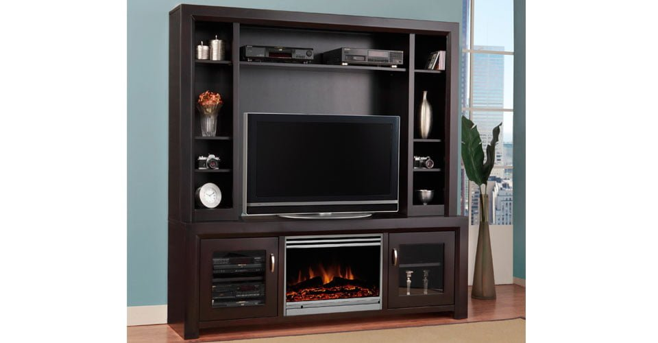 Contempo Entertainment Unit - Millbank Family Furniture Millbank ON