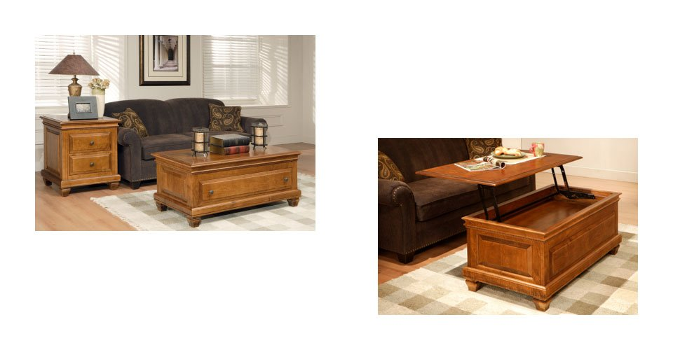 Florentino living room tables millbank family furniture for Living room no coffee table
