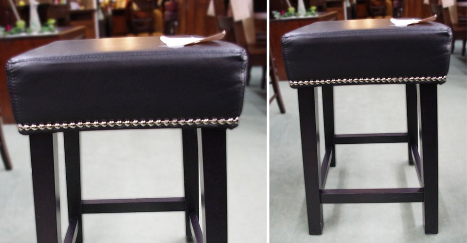 Leather Seat Stools