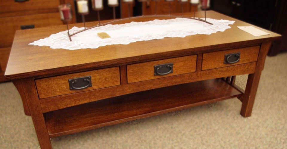Mission Coffee Table Set