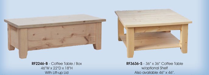 Rough Cut Living Room Tables Millbank Family Furniture Millbank On N0k1l0