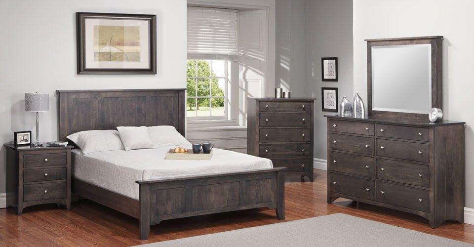 Shaker Bedroom Set 1