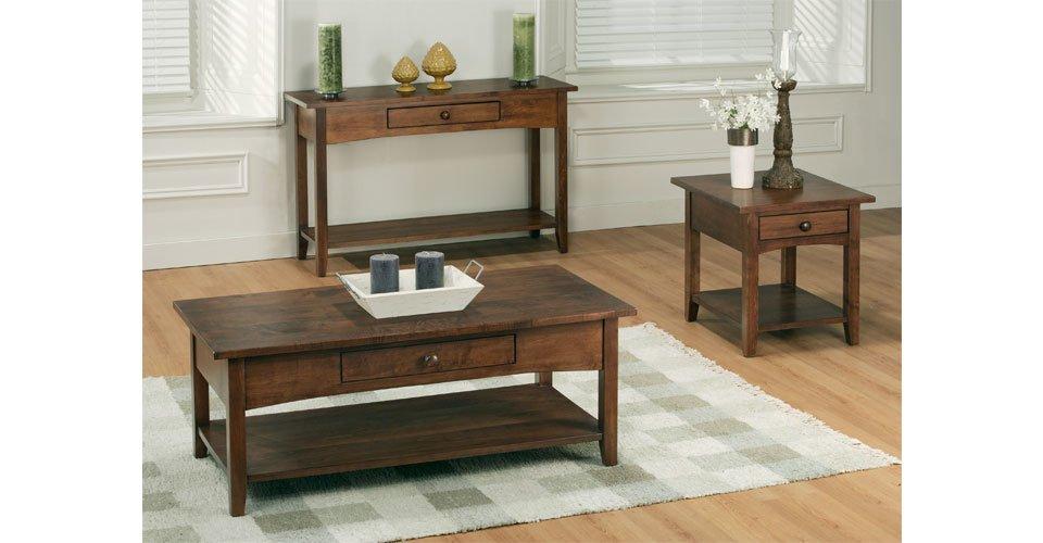 Shaker Living Room Tables