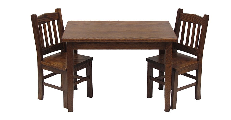 Mission Table & Chair Set