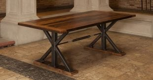 Metal Threshing Floor Table
